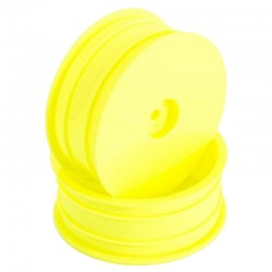 Yellow Front Wheel - 1/10 Buggy (B6/B5/RB6/RB7/SRX)