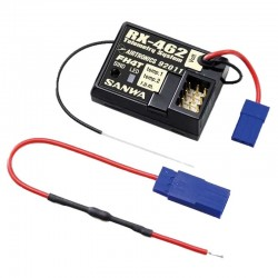 4-Channel RX-462 Telemetry Receiver