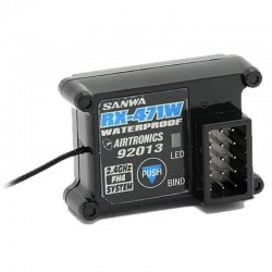 Rx-471wp Waterproof 4-Channel Receiver