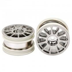M-Chassis 11-Spoke Wheels (Chrome Plated 2 pieces.)