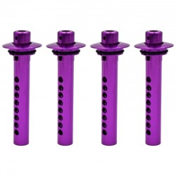 HPI Hellfire Purple Swivel Spring Loaded Body Post