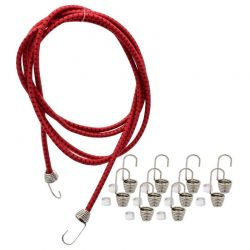 1/10 Scale Black red Bungee Cord Kit