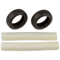 Narrow Mini Pin Tires with inserts:14B 14T