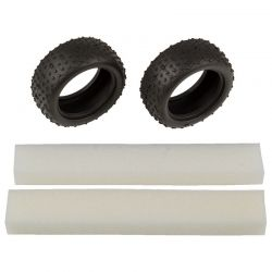 Wide Mini Pin Tires with inserts:14B 14T