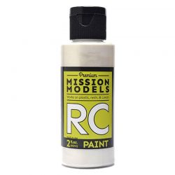 Pearl White Water-Based Rc Airbrush Paint 2oz