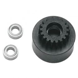 1/8 Clutch Bell (18t Mod1 Hard W/Bearing)