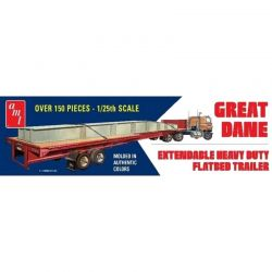 1/25 Extendable Flatbed Trailer Great Dane