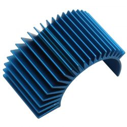 Factory Team Rad Clp-On heatsink Long Blue Tc3