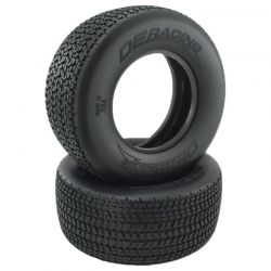 Grooved G6T D30 Compound SC Oval Tire / With Inserts / 2 pieces.