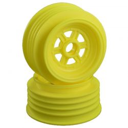 Gambler Front Wheels for 3/8 Bearing/Custom Works/ GFRP /Yellow