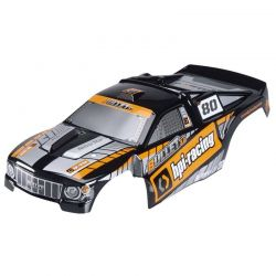 Trimmed & Painted Bullet 3.0 ST Body (Black) w/Decals