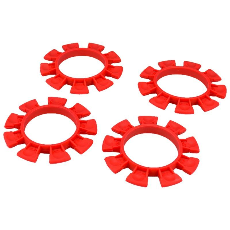 JConcepts Satellite Tire Gluing Rubber Bands Red (2) [2212-7]