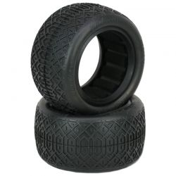 Rip Tide - Rear Buggy Tires W/Inserts 2.2 (1 Pr) Supersoft