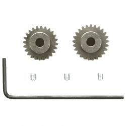 RC TRF201 48 Pitch Pinion Gears - (24T 25T)