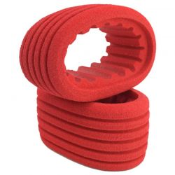 Red Closed Cell Inserts for Outlaw Sprint Rear Tires / 2 pieces.