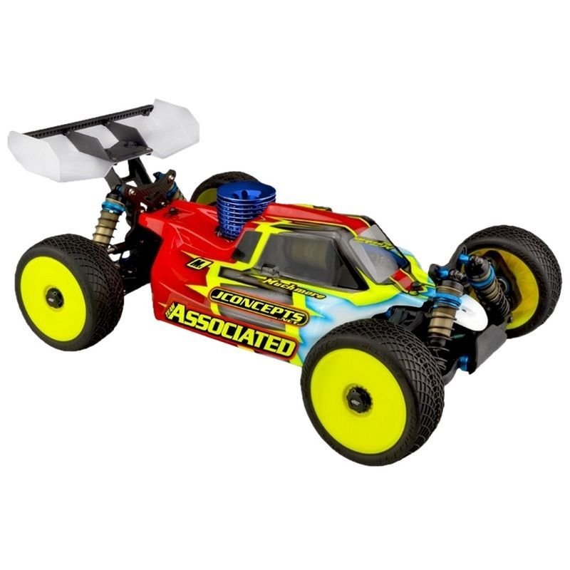 JConcepts Silencer Clear Body Light Weight - RC8B3.1 [0371L]