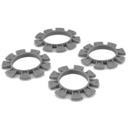 Satellite Tire Gluing Rubber Bands - Gray 4 pieces