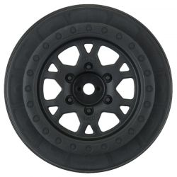 Impulse Black Front Wheels for Slash 2WD