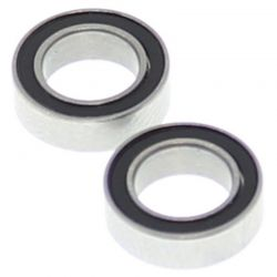 6*10*3mm Rubber Sealed Ball Bearings (2 pieces)