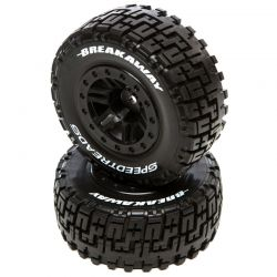 SpeedTreads Breakaway SC MNTD Black:SlashR 4X4FR ECX