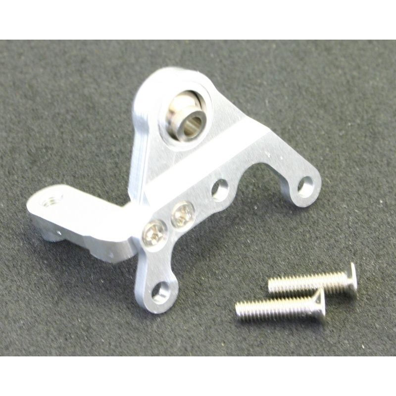 Hot Racing silver Aluminum Upper Link Mounting bracket [WK0808]