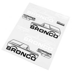 Body Decals for Traxxas TRX-4 79 Bronco Ranger XLT (Style B)