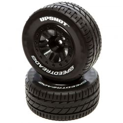 SpeedTreads Upshot SC Tire MTD Black: TRA SL F (2)