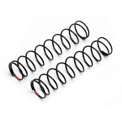 Spring 13x69x1.1mm 10 Coils Red (2)