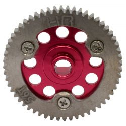 Red Titanium Spur Gear (56-Tooth)