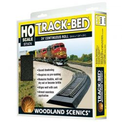 Track-Bed Roll (24ft roll) HO Scale Trains
