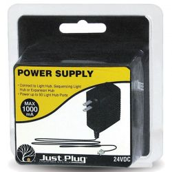 Just Plug Power Supply 120VAC Input 24VDC Output