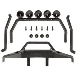 CR12 Roll Bar and Bumper Set black