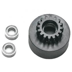 1/8 Clutch Bell (16t Mod1 Hard W/Bearing)
