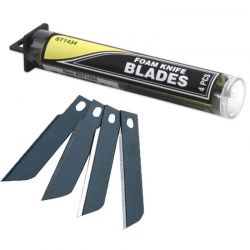 Foam Knife Blades (4)