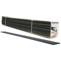 Track-Bed Strips 24in (12/pkg) HO Scale Trains
