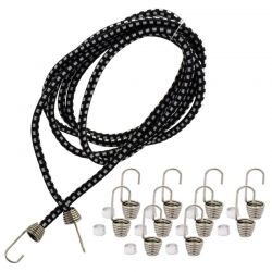 1/10 Scale Black Bungee Cord Kit