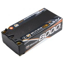 Graphene V2 High Voltage 6000mAh 2S (7.6V) Shorty Battery