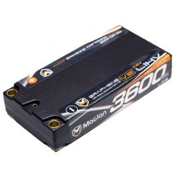 Graphene V2 High Voltage LCG 3600mAh 2S (7.6V) Shorty Battery