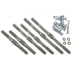4mm Titanium Turnbuckle Kit for Traxxas Stampede 2WD