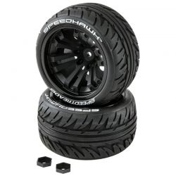 Duratrax SPEEDTREADS Speedhawk 1/10 ST/MT Tires MNTD 2 [DTXC2900]