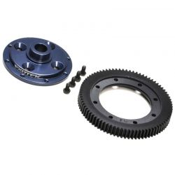 EB410 Machined 81 Tooth Spur Gear & Mounting Plate