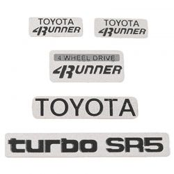 1985 Toyota 4Runner Emblem Set