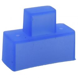 Blue Silicone Switch Cover