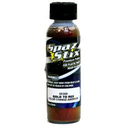 Color Change Airbrush Ready Paint Gold/Red 2oz Bottle