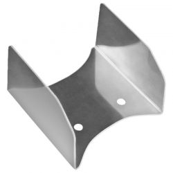 Lexan Rear Wing Center Fin - ZAP