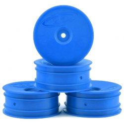 Speedline Buggy Wheels for B6.1 / RB6 / Front / Blue / 4 pieces