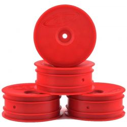 Speedline Buggy Wheels for B6.1 / RB6 / Front / Red / 4 pieces