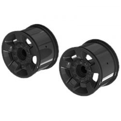 Mt 2.8 inch Wheel 14mm Hex Black Chrome/2