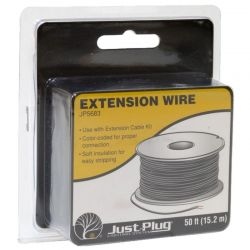 Just Plug Extension Wire (50ft) Model Trains