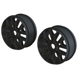AR 1/8 Buggy Wheel Black 2